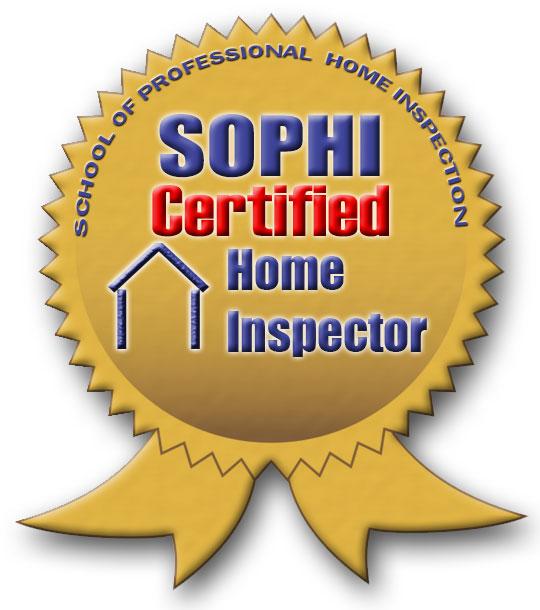 SOPHI Certified Home Inspector